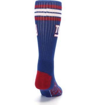 Image of New York Giants Men's Athletic Crew Socks (back-19)