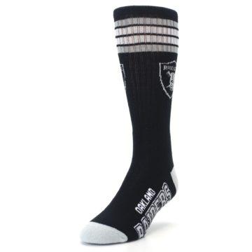 Image of Oakland Raiders Men's Athletic Crew Socks (side-2-front-07)
