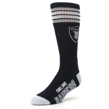 Image of Oakland Raiders Men's Athletic Crew Socks (side-2-front-08)