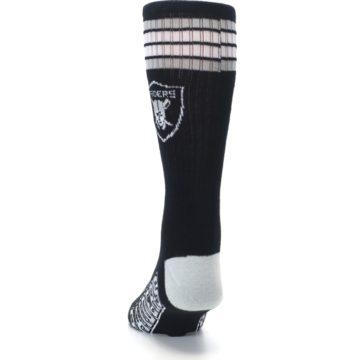 Image of Oakland Raiders Men's Athletic Crew Socks (back-17)