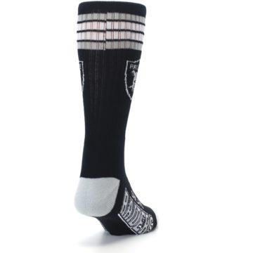 Image of Oakland Raiders Men's Athletic Crew Socks (side-1-back-20)