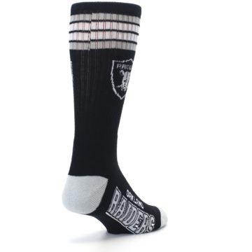 Image of Oakland Raiders Men's Athletic Crew Socks (side-1-back-21)