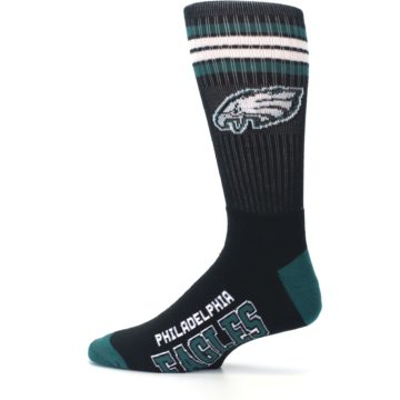 Image of Philadelphia Eagles Men's Athletic Crew Socks (side-2-12)