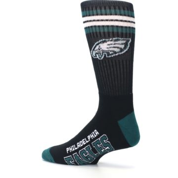 Image of Philadelphia Eagles Men's Athletic Crew Socks (side-2-13)