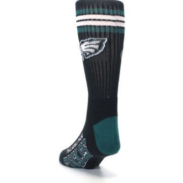 Image of Philadelphia Eagles Men's Athletic Crew Socks (side-2-back-16)