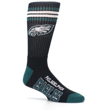 Image of Philadelphia Eagles Men's Athletic Crew Socks (side-1-25)
