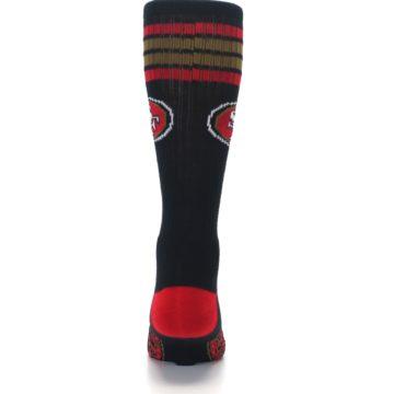 Image of San Francisco 49ers Men's Athletic Crew Socks (back-18)
