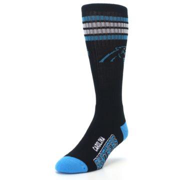 Image of Carolina Panthers Men's Athletic Crew Socks (side-2-front-07)
