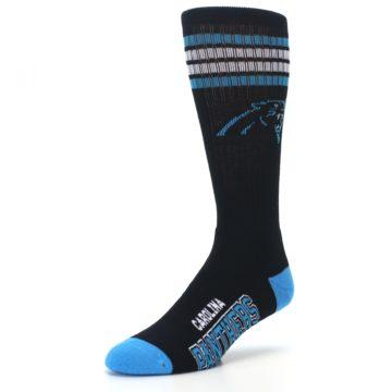 Image of Carolina Panthers Men's Athletic Crew Socks (side-2-front-08)