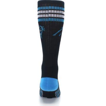 Image of Carolina Panthers Men's Athletic Crew Socks (back-18)