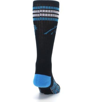 Image of Carolina Panthers Men's Athletic Crew Socks (back-19)