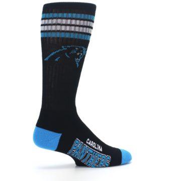 Image of Carolina Panthers Men's Athletic Crew Socks (side-1-23)