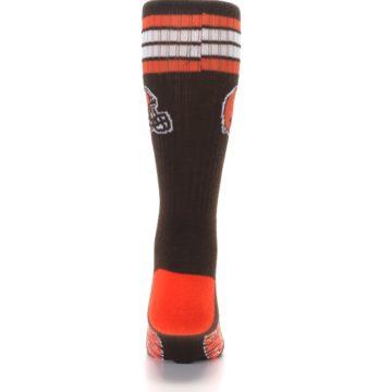Image of Cleveland Browns Men's Athletic Crew Socks (back-18)