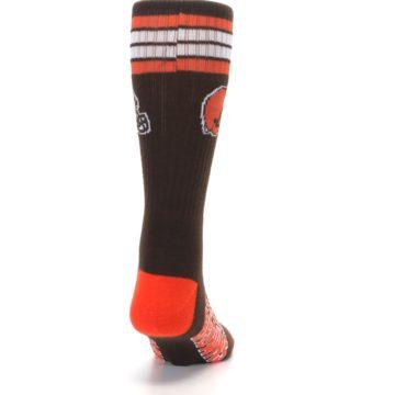 Image of Cleveland Browns Men's Athletic Crew Socks (back-19)