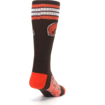 Image of Cleveland Browns Men's Athletic Crew Socks (side-1-back-20)