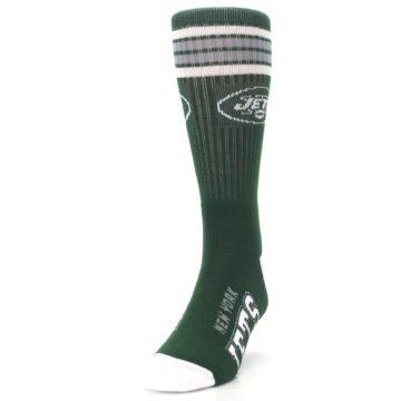 Image of New York Jets Men's Athletic Crew Socks (side-2-front-06)