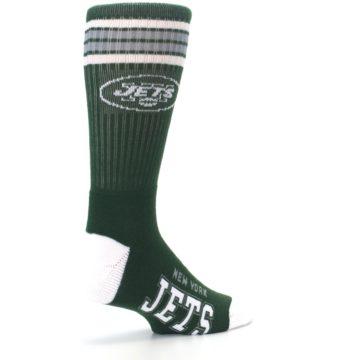 Image of New York Jets Men's Athletic Crew Socks (side-1-back-22)