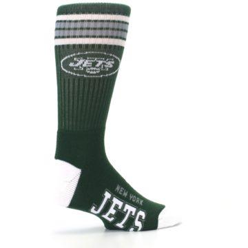 Image of New York Jets Men's Athletic Crew Socks (side-1-23)