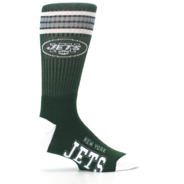 Image of New York Jets Men's Athletic Crew Socks (side-1-24)