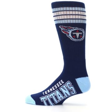 Image of Tennesse Titans Men's Athletic Crew Socks (side-2-12)