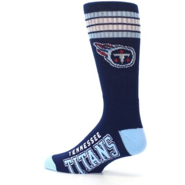 Image of Tennesse Titans Men's Athletic Crew Socks (side-2-13)