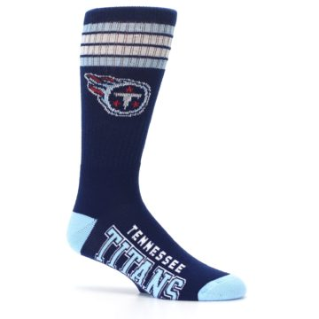 Image of Tennesse Titans Men's Athletic Crew Socks (side-1-25)