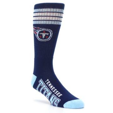 Image of Tennesse Titans Men's Athletic Crew Socks (side-1-27)