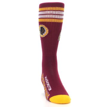Image of Washington Redskins Men's Athletic Crew Socks (side-1-front-03)