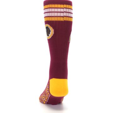 Image of Washington Redskins Men's Athletic Crew Socks (back-17)
