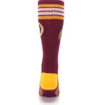 Image of Washington Redskins Men's Athletic Crew Socks (back-18)