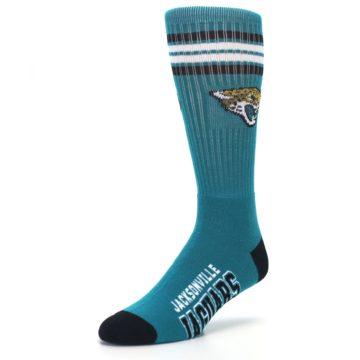 Image of Jacksonville Jaguars Men's Athletic Crew Socks (side-2-front-08)