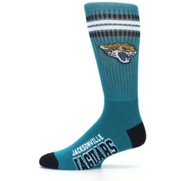 Image of Jacksonville Jaguars Men's Athletic Crew Socks (side-2-11)
