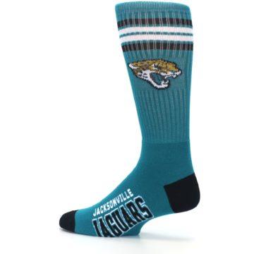 Image of Jacksonville Jaguars Men's Athletic Crew Socks (side-2-13)