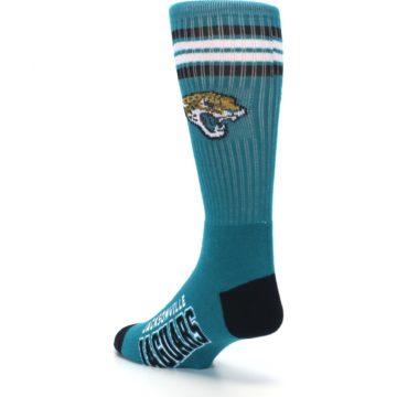 Image of Jacksonville Jaguars Men's Athletic Crew Socks (side-2-back-15)