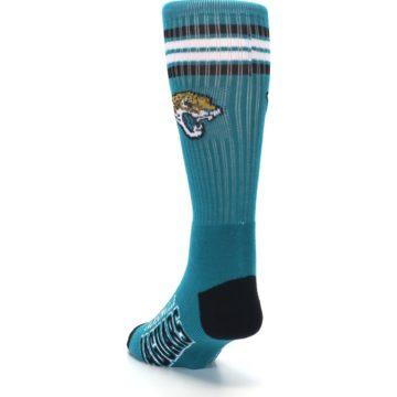 Image of Jacksonville Jaguars Men's Athletic Crew Socks (side-2-back-16)