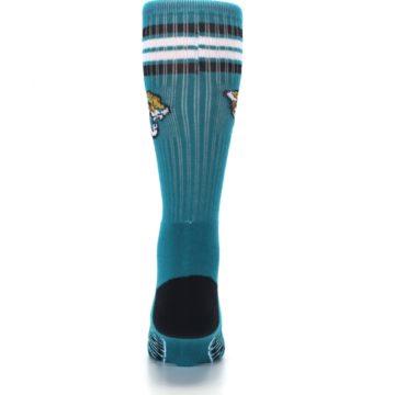 Image of Jacksonville Jaguars Men's Athletic Crew Socks (back-18)