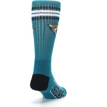 Image of Jacksonville Jaguars Men's Athletic Crew Socks (side-1-back-20)