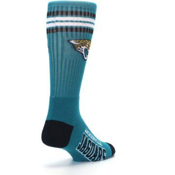 Image of Jacksonville Jaguars Men's Athletic Crew Socks (side-1-back-21)