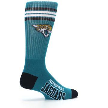 Image of Jacksonville Jaguars Men's Athletic Crew Socks (side-1-23)