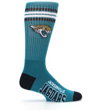Image of Jacksonville Jaguars Men's Athletic Crew Socks (side-1-24)