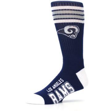 Image of Los Angeles Rams Men's Athletic Crew Socks (side-2-10)