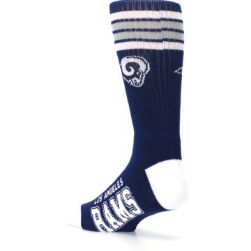 Image of Los Angeles Rams Men's Athletic Crew Socks (side-2-back-14)