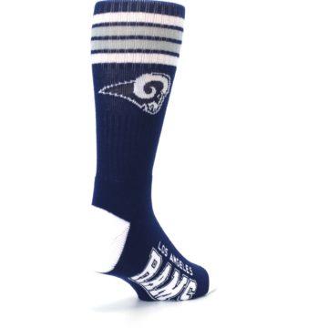 Image of Los Angeles Rams Men's Athletic Crew Socks (side-1-back-21)
