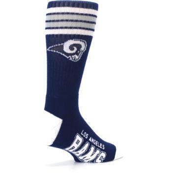 Image of Los Angeles Rams Men's Athletic Crew Socks (side-1-back-22)