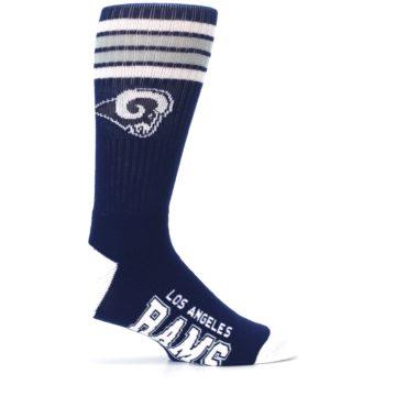 Image of Los Angeles Rams Men's Athletic Crew Socks (side-1-24)