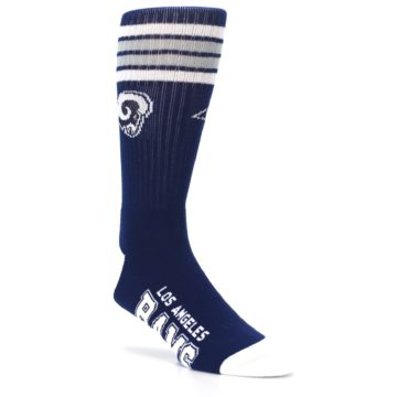 Image of Los Angeles Rams Men's Athletic Crew Socks (side-1-27)