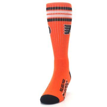 Image of Philadelphia Flyers Men's Athletic Crew Socks (side-2-front-06)