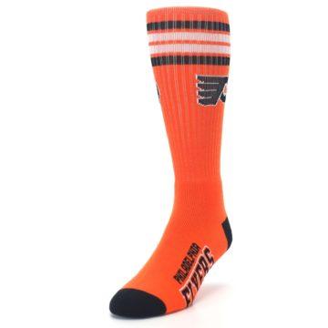 Image of Philadelphia Flyers Men's Athletic Crew Socks (side-2-front-07)