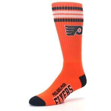 Image of Philadelphia Flyers Men's Athletic Crew Socks (side-2-09)