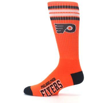 Image of Philadelphia Flyers Men's Athletic Crew Socks (side-2-12)